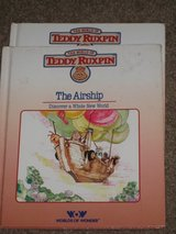 2 Teddy Ruxpin The Airship books in Spring, Texas