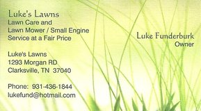 Luke's Lawns Accepting New Clients in Clarksville, Tennessee