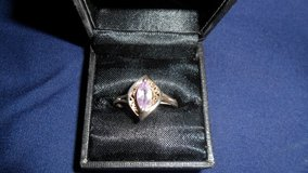 Ring#3 sliver amethyst in Fort Campbell, Kentucky