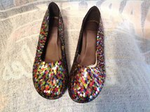 BNWOT Size 9 Sequined Shoes in Camp Lejeune, North Carolina