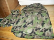 #P38 CAMO PRINT SCARF HAT AND GLOVE SET NEW in Fort Hood, Texas