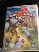 NEW Nintendo Wii Academy of Champions Soccer E in Manhattan, Kansas